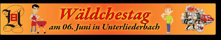 Wäldchestag am Feuerwehrhaus Unterliederbach